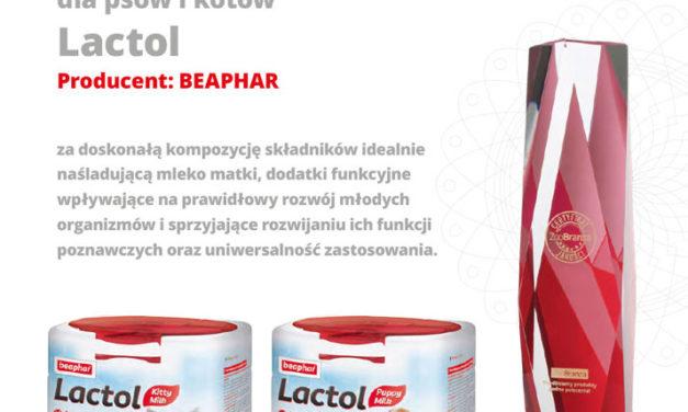 Certyfikat Jakości ZooBranży otrzymuje firma BEAPHAR!