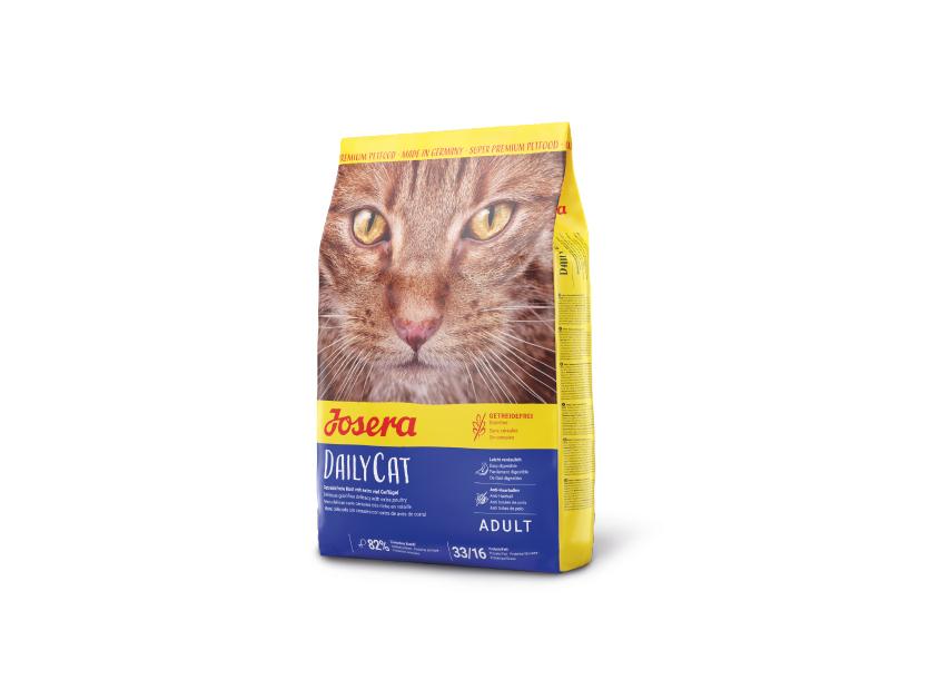 JOSERA DAILYCAT – BEZZBOŻOWA karma dla kotów zdużą zawartością drobiu