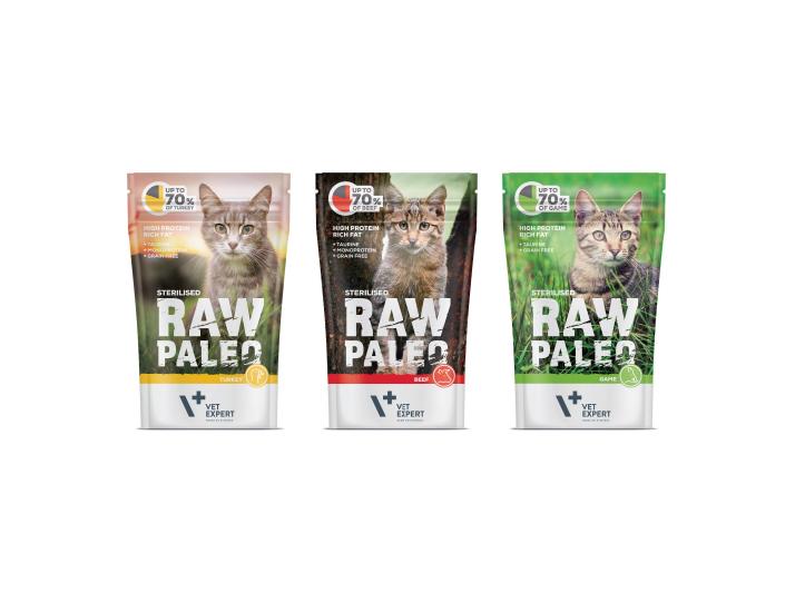 RAW PALEO – karma mokra dla kota