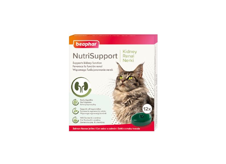 Beaphar NutriSupport Nerki  – dla kotów zproblemami nerkowymi