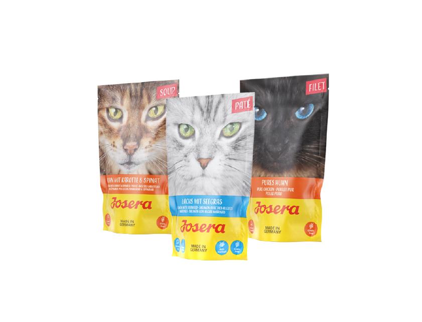 Mokre karmy dla kotów JOSERA!
