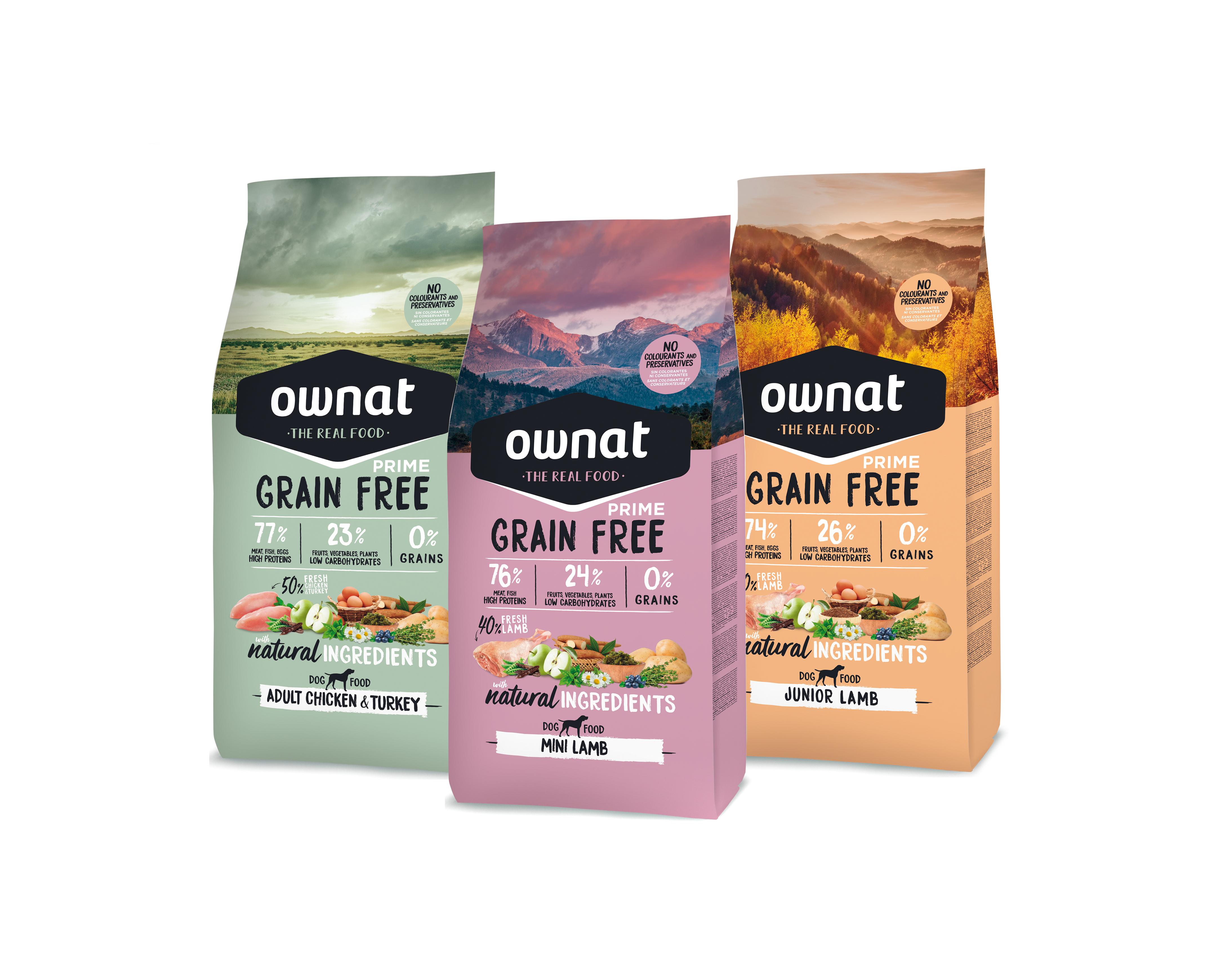 Maksymalna jakość odżywcza w karmach OWNAT!