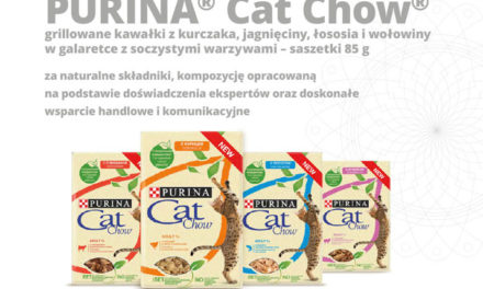 Certyfikat Jakości ZooBranży otrzymuje firma PURINA® Cat Chow®!
