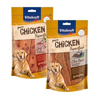 Nowe przysmaki CHICKEN FILET Vitakraft® SUPERFOOD!