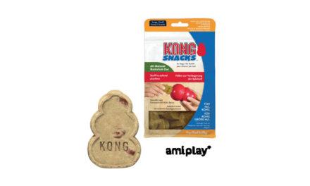 amiplay dystrybutor firmy Kong przedstawia: ciastka dla psa Kong Snacks
