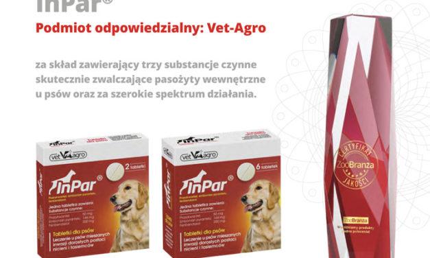 Certyfikat jakości ZOOBRANŻY otrzymuje Vet-Agro!