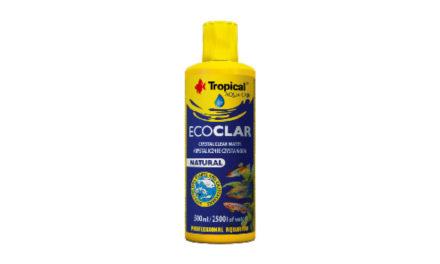 Nowość! Preparat Tropical Ecoclar KRYSTALICZNIE CZYSTA WODA WAKWARIUM