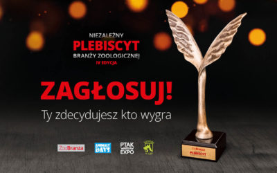 Zagłosuj na kandydata w Plebiscycie Branży Zoologicznej!