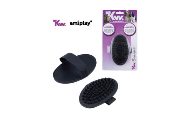 amiplay, dystrybutor firmy KW prezentuje: Szczotka do masażu KW Smart Massage