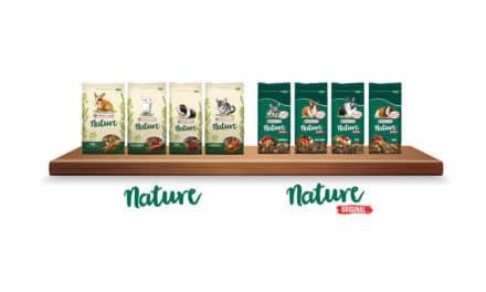 VERSELE-LAGA POSZERZA LINIĘ NATURE – dostępne są już mieszanki Nature Original wopakowaniach 750 g i2,5 kg!