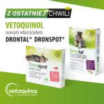 Światowy koncern Vetoquinol nabył marki Drontal ® i Dronspot ®