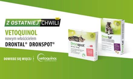 Światowy koncern Vetoquinol nabył marki Drontal® iDronspot®