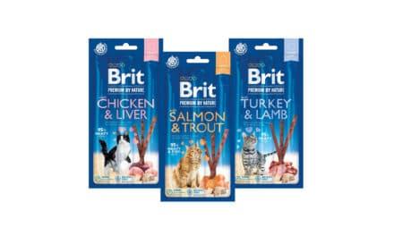 Nowość! Przysmaki dla kotów Brit Premium By Nature w formie mięsnych patyczków