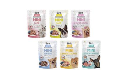 Nowość! Brit Care Mini – mokra karma wsaszetkach dla psów ras małych iminiaturowych