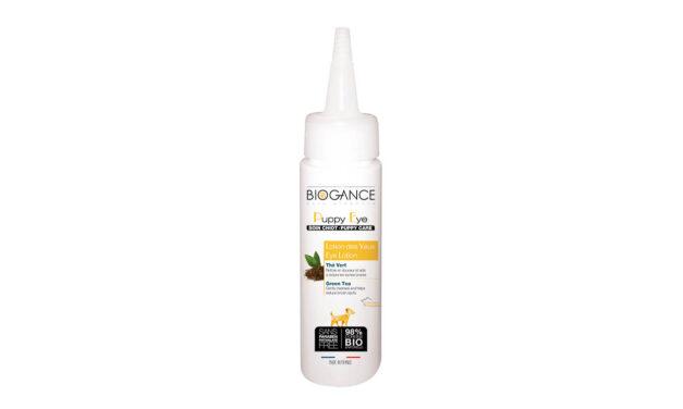 amiplay, dystrybutor marki Biogance, prezentuje Biogance żel do mycia oczu dla szczeniąt