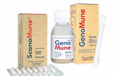 Genomune iScanomune od Scanvet wnowych ekologicznych opakowaniach
