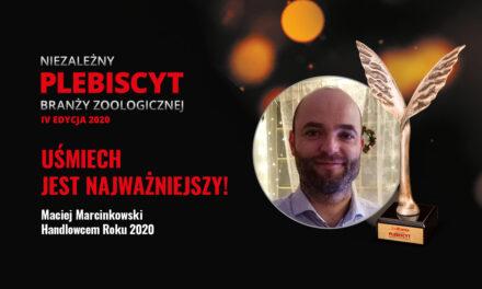 Maciej Marcinkowski Handlowcem Roku 2020