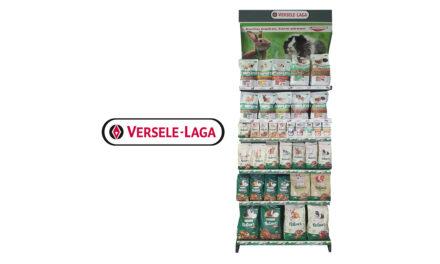 Regały Versele-Laga na produkty premium dla małych zwierząt
