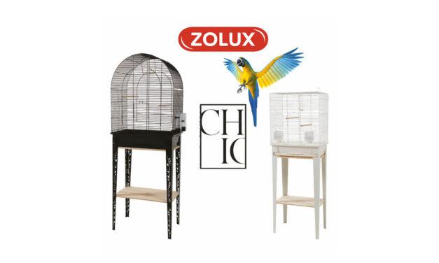 Chic – nowa kolekcja klatek dla ptaków od Zolux