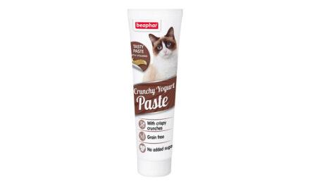 Nowość od Beaphar – chrupiąca pasta jogurtowa dla kotów
