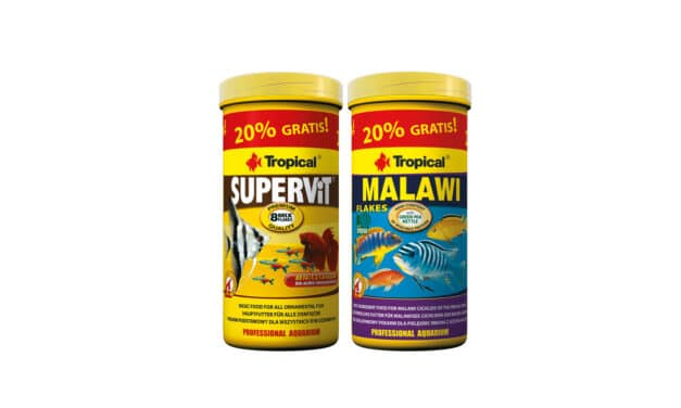 20% POKARMU MALAWI ISUPERVIT GRATIS!