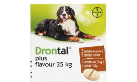 Tabletki odrobaczające Drontal PLUS FLAVOUR – dla psów 35 kg