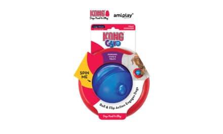 Firma amiplay, dystrybutor marki KONG, przedstawia: Kong Gyro