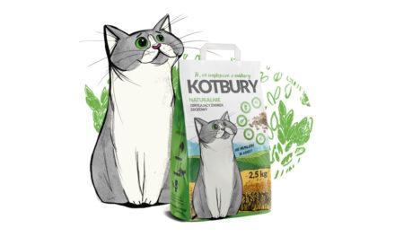 KOTBURY – nowość wofercie żwirków dla kotów!