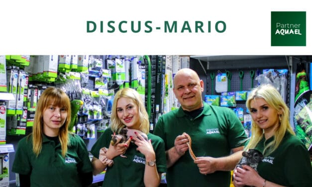 DISCUS-MARIO – Pierwszy sklep w programie AQUAEL PARTNER!