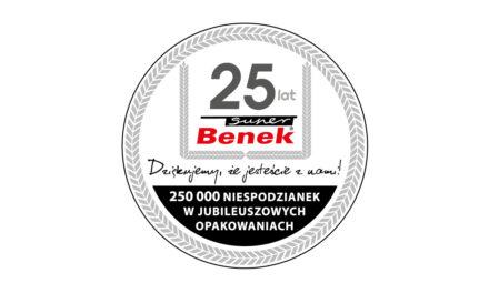 Super Benek ma 25 lat!