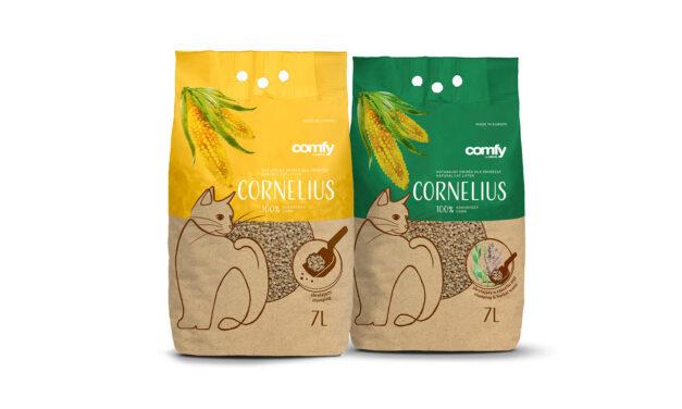 Nowość! Żwirek kukurydziany CORNELIUS