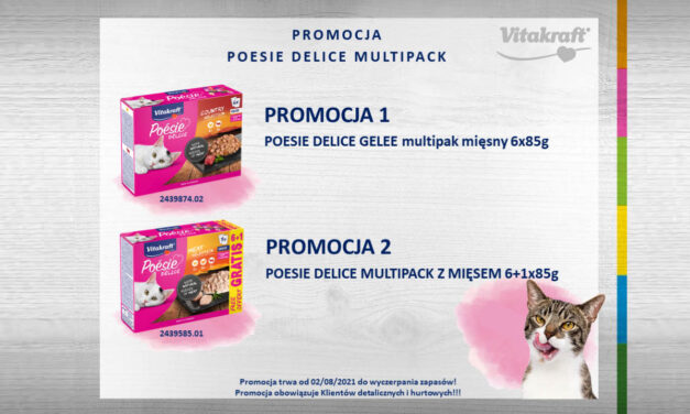 Promocja serii Poesie multipack od Vitakraft!