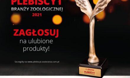 Zagłosuj na PRODUKT ROKU w Plebiscycie Branży Zoologicznej